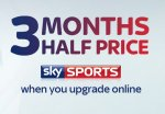 SKY SPORTS Half price for 3 months (Currently £11pm)