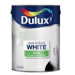 ASDA instore Dulux White 5LITRE paint matts and silks to yellow £10