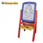 Fireman Sam double sided easel £12.50 @ cash generator (colwyn bay) reduced from £25