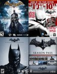 PC (Steam) Games - Batman Mega Bundle - £13.54, Binary Domain - £2.25, Borderlands 2 - £4, Jet Set Radio - 60p, L.A. Noire Complete - £3.62, Max Payne 3 - £3, NFS Rivals - £7.23, Nights in Dreams - £1.20 @ Amazon.com
