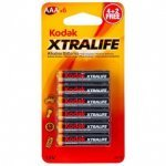 Better than Duracell Procell. 6 Kodak Xtralife Alkaline Batteries @ Poundland Telford