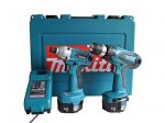 Makita 6337DWDE-ID 14.4v Drill Driver and Impact Driver Twin Kit £136 @ Folkestone Fixings