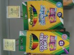 Tesco Instore 12 Crayola Pencils £1.00 with Kids Go Free at Odeon
