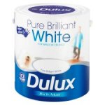 Dulux Matte White 2.5Ltr only £6 at Tesco - Last day!