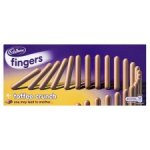 Cadburys Fingers Toffee Crunch - 50p at Tesco