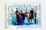 £8 for a Frozen wall sticker - delivery included - KGB Deals