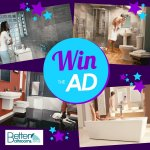 WIN all of the products in the Better Bathrooms September TV Advert @ Better Bathrooms/Facebook