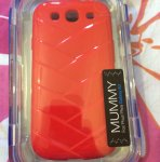 MUMMY samsung galaxy s3 case with free video stand £1.00 at poundland in store