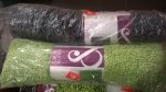 Cook&Lewis Sitelle rug in grey or green only £2 at B&Q Culverhouse Cross Cardiff