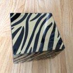 Glass Animal print jewellery box £6.99 reduced to £1.74 @ Dunelm Mill