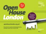 Open House London 2014 - Explore top London attractions for free