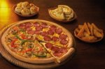 3 FOR FREE: FREE NACHOS + WEDGES + FREE DOMINOS DESSERT WHEN YOU BUY ANY LARGE PIZZA