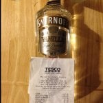 Smirnoff Vanilla 70cl £13 @ Tesco