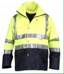 Highvis safety jacket XXL only £8.99 2 year guarantee was £29.99  @ Clas Ohlson in store
