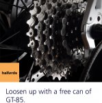 Free Can of GT-85 @ Halfords (O2 Priority)