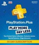 90 Day PlayStation Plus £9.99 Delivered @ Grainger Games