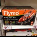 Flymo CHEVRON 32V Electric Rotary Mower 320mm Cut Width 1200w 240v - £50 @ Wilko