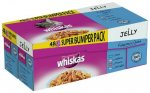 Whiskas Fisherman's Choice in Jelly Pouches 48 x 100g £8.95 @ FarmFoods