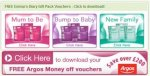 Free pregnancy and baby packs @ Emmas Diary