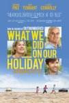 What We Did On Our Holiday!! SFF 23 Sep Vue 6.30 Showcase 7pm
