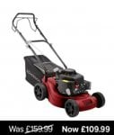 Lawnmower at Homebase for £109.99