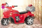 Kids' Electric Police Trike for £34.99 delivered! Red or Pink available. Ebuyer (Wowcher)
