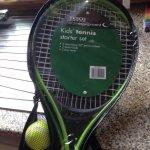 Kids tennis starter kit £3.50 @ Tesco instore