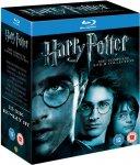 Harry Potter Complete Blu Ray Box Set £22.50 @ Amazon