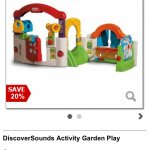 Little Tikes Activity Garden £56 at Debenhams
