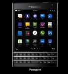 Save £104 on BlackBerry Passport Black - Brand new unlocked from BlackBerry UK store £440 - possibly £425