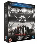X-Men: The Cerebro Collection, all 7 X-Men/Wolverine films on blu-ray, £55 at Amazon (pre-order)