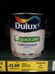 Dulux Quickdry Satinwood £12 @ Tesco