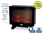 Flame Effect Heater for £59.99 at Aldi from Sunday 5th October with 3yr Warranty.
