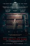 The Imitation Game; Wednesday 08/10/14 SFF (Cineworld Unlimited card required)