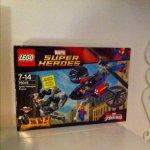 Lego Marvel Superheroes Spider Helicopter Rescue Set £22.50 @ Tesco instore
