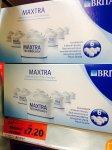 Brita Maxtra Water Filters 6 pack. £7.20 Instore At Sainsburys.
