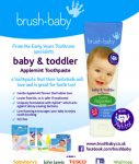 Free sample of brush baby toddler toothpaste