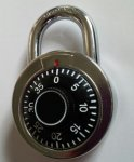 50MM DIAL COMBINATION  PADLOCK  for £0.88 each @ CPC ( delivery is free but minimum online order value is £6 )
