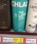 Bruichladdich The Laddie Ten Islay single malt whisky £26.40 @ Tesco New Milton