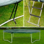 Plum 8 ft trampoline accessory kit was £44.99 reduced to £5 @ Tesco
