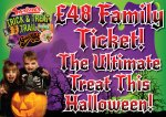 £48 Halloween family ticket at Gulliver's