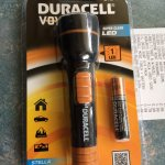 Duracell mini torch & battery at Home Bargains - 99p