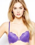 Ultimo Lingerie up to half price at ASOS -  Purple Lace Everyday Fashion Bra - £12