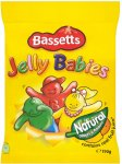 Bassetts Jelly Babies (190g) ONLY £1.00 @ Iceland