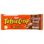 £1 Toffee Crisp Marshmallow Choccy Road Biscuit 7pk Also Toffee Crisp Bitesize & Toffee Crisp Sharing bar  @ Asda
