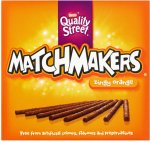 Nestle Quality Street Matchmakers - Cool Mint & Zingy Orange (130g) was £1.95 now 2 for £2.00 @ Sainsbury's
