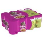 Whiskas Adult Jelly Selection 12 X390g £5.00 at Tesco