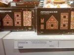 Ikea Gingerbread: House Kit - £2.45,  Christmas Tree Kit - £1.50,  Star & Heart Tree Cookies - 90p.