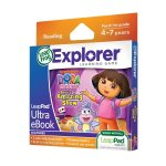 LeapPad Ultra eBook: Dora the Explorer Dora's Amazing Show Was £14.99 Now £7.99 Free Delivery With £10 Spend or Prime @ Amazon