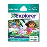LeapFrog Explorer Game: Dora the Explorer Dora's Worldwide Rescue only £7.99 @ Amazon (free delivery £10 spend/prime)